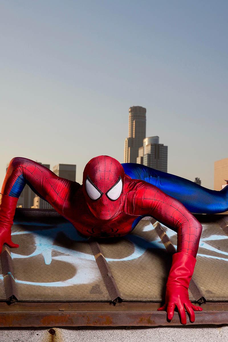 Superhero spiderman party character for kids in cincinnati