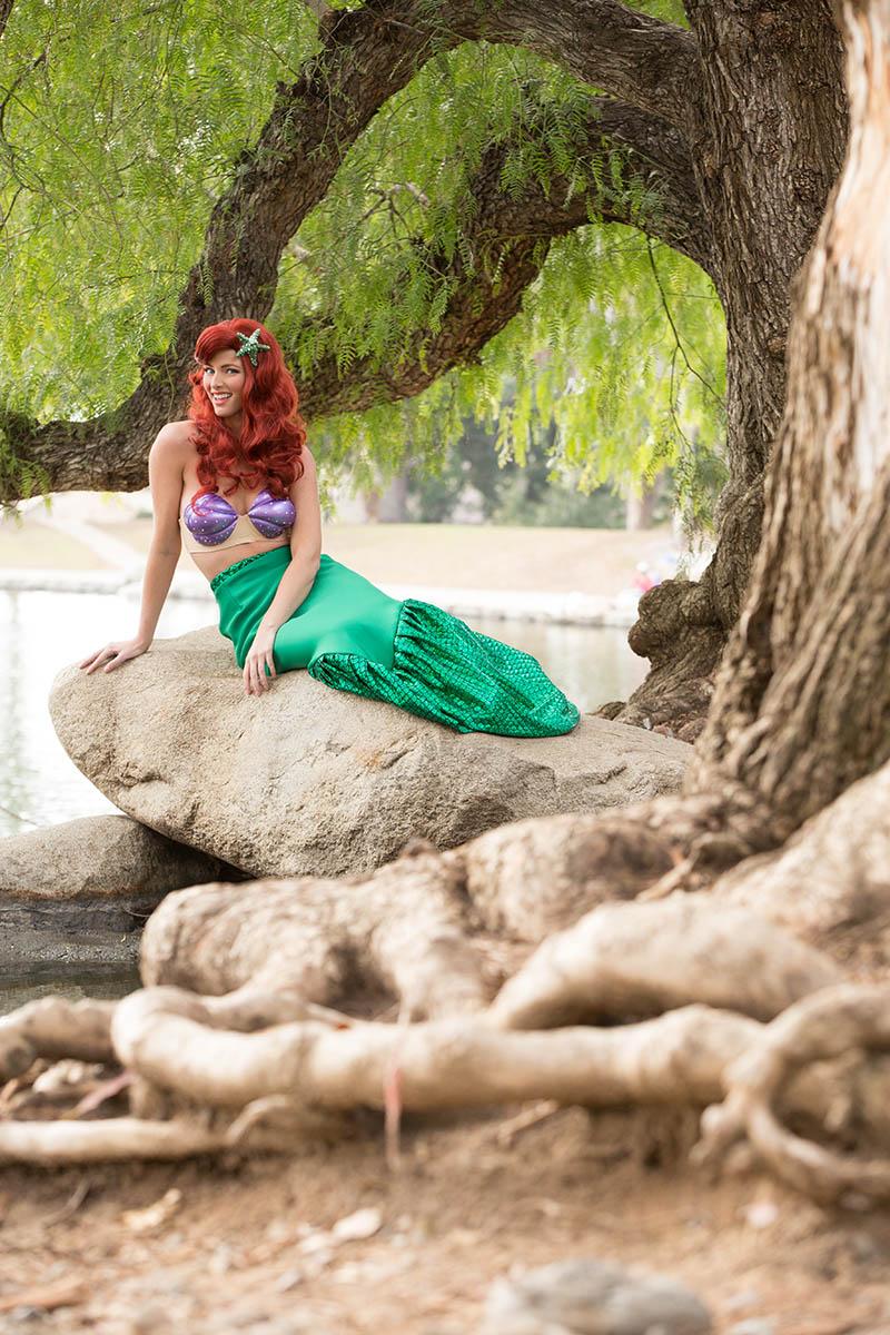 Affordable mermaid party character for kids in cincinnativ