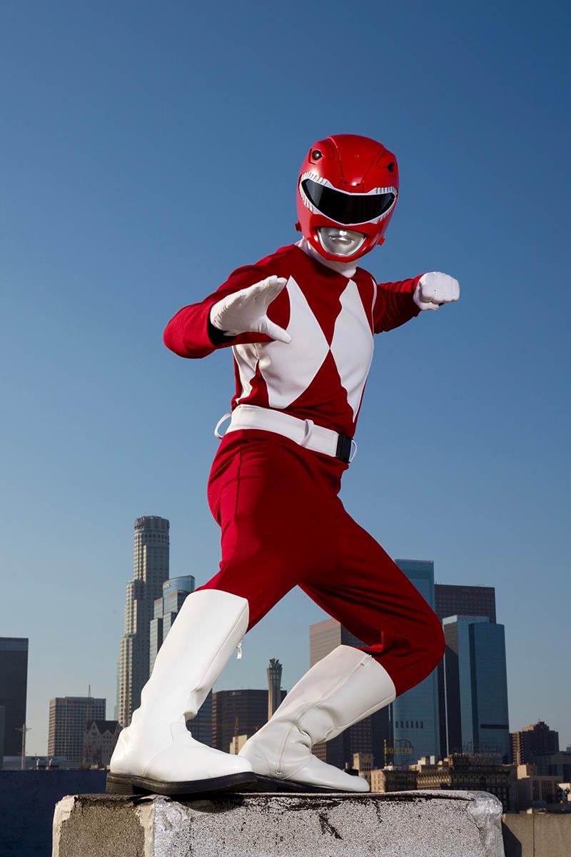 Superhero power ranger party character for kids in cincinnati