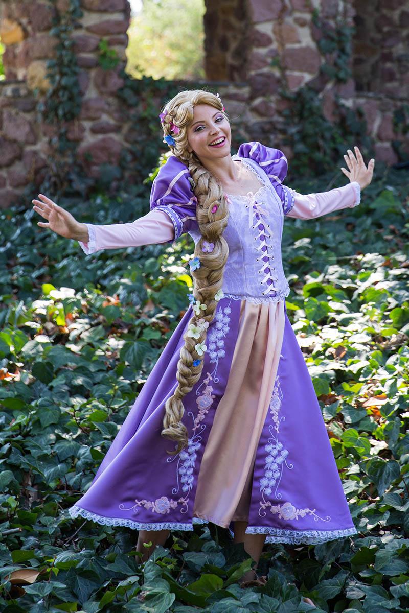 Rapunzel party character for kids in cincinnati